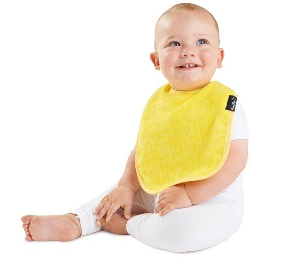 Mum2Mum Standard Wonder Bib Tweedlenz Yellow