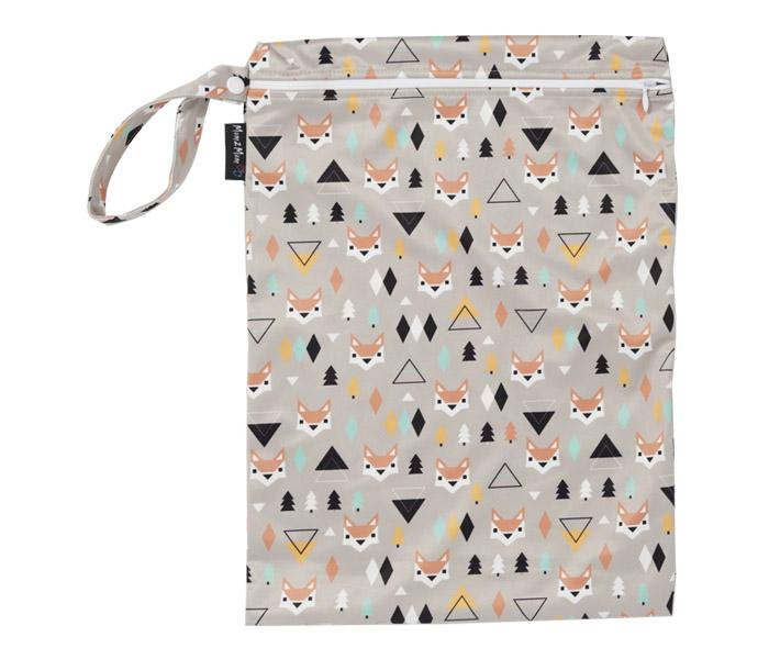 Mum2Mum Wet Bag Tweedlenz Foxes