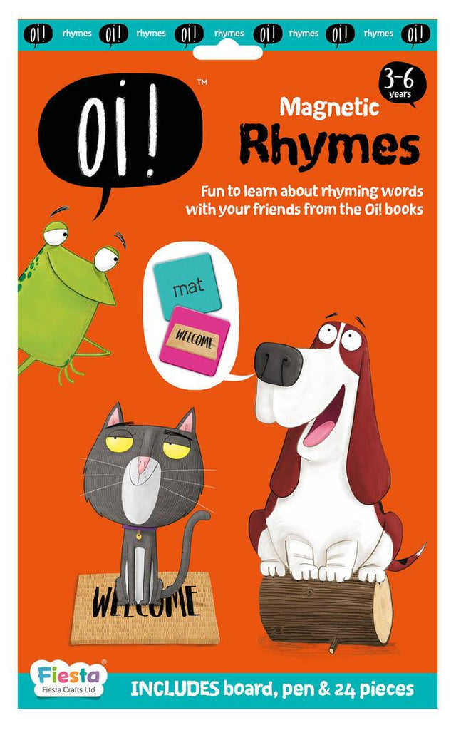 Oi! Magnetic Rhymes Learn & Play Logical Toys