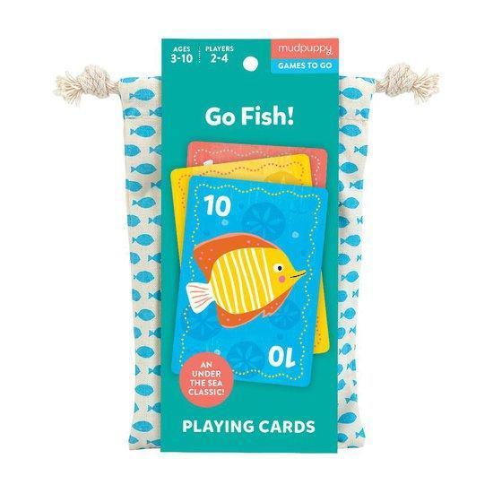 Playing Cards to Go Learn & Play Mudpuppy Go Fish