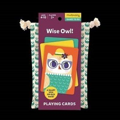 Playing Cards to Go Tweedlenz Wise Owl