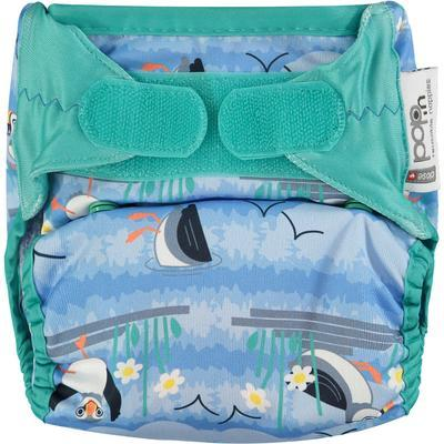 Pop-In Nappy Nappies Close Pop-In Blue Puffin (Bio-Laminate) Velcro