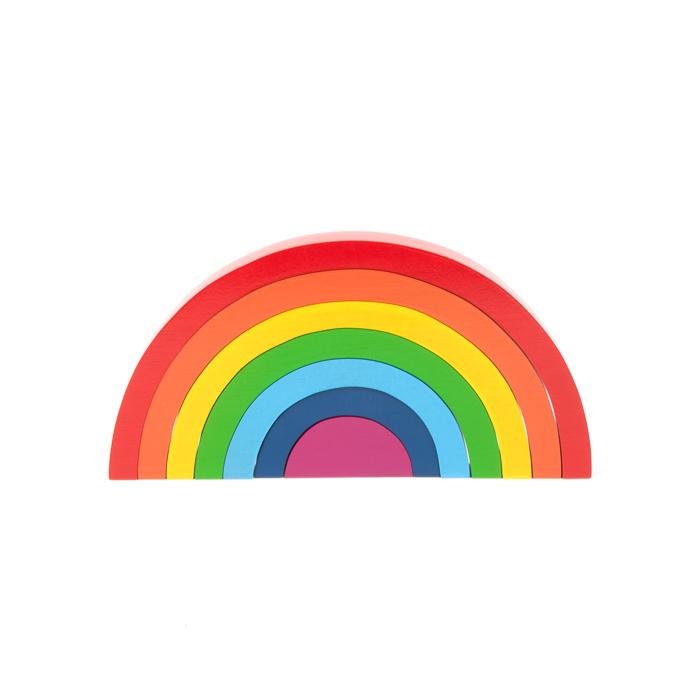 Rainbow Puzzle Learn & Play Trade Aid
