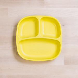 RePlay Divided Plates Tweedlenz Yellow