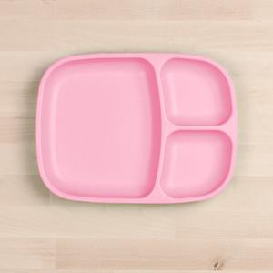 RePlay Divided Tray Plate Tweedlenz Baby Pink