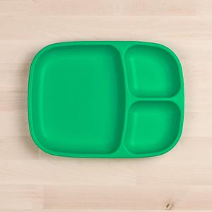 RePlay Divided Tray Plate Tweedlenz Kelly Green