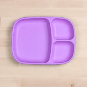 RePlay Divided Tray Plate Tweedlenz Purple