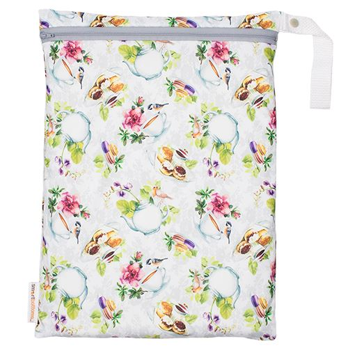 Smart Bottoms - On the Go Wet Bag Tweedlenz Tea Party