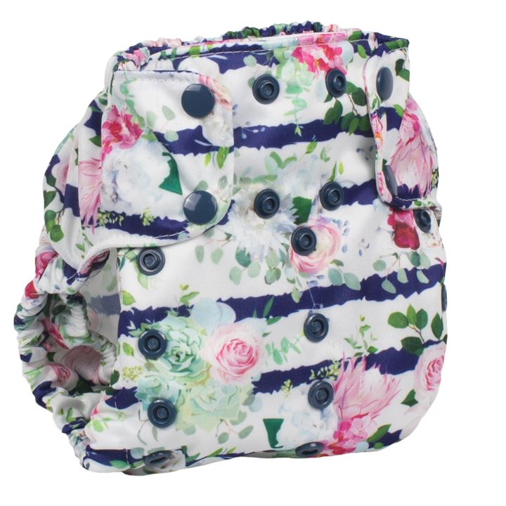 Smart Bottoms Too Smart Nappy Cover Nappies Smart Bottoms Belle Blossom