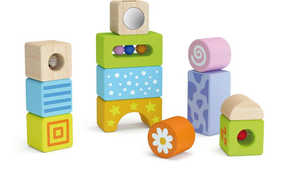 Sound Blocks - 12pcs Learn & Play Logical Toys