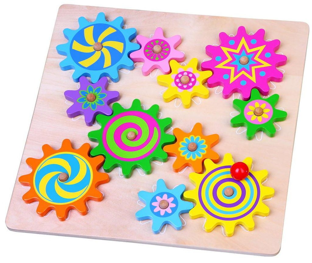 Spinning Gears Learn & Play Logical Toys