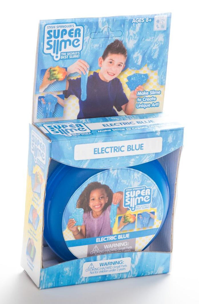 Super Slime Learn & Play Logical Toys Electric Blue