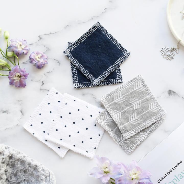 Sustainablah Washable Makeup Remover Pads Tweedlenz