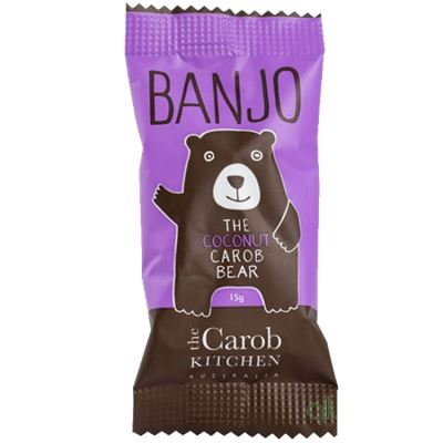 The Carob Kitchen Banjo Bear - Coconut Tweedlenz