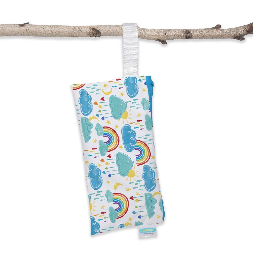 Thirsties Clutch Bag Nappies Thirsties Rainbow