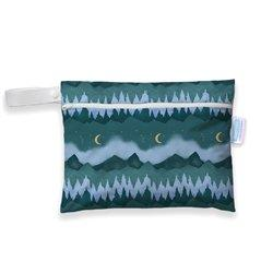 Thirsties Mini Wet Bag Tweedlenz Mountain Twilight
