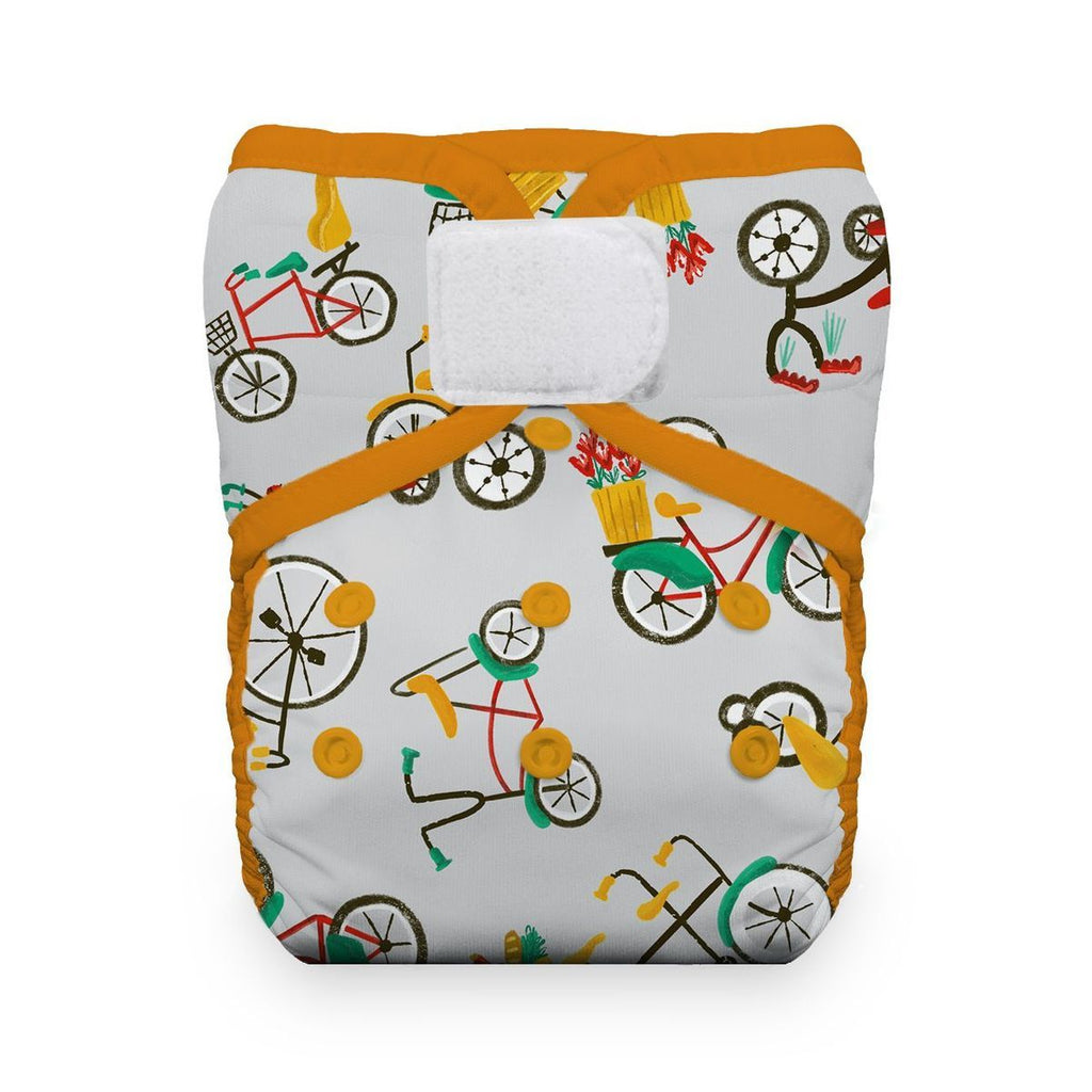 Thirsties Pockets Nappies Thirsties Cruising Hook & Loop Natural