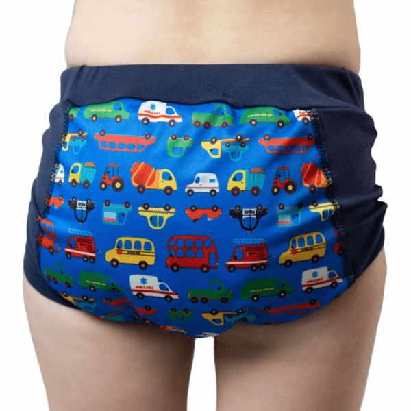 Wee Pants Tweedlenz Vehicles Size 3&4