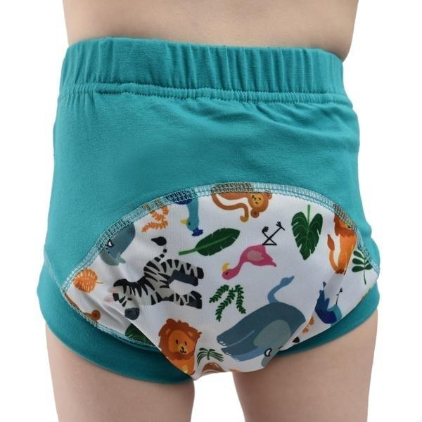 Wee Pants Tweedlenz Zoo Animals Size 2