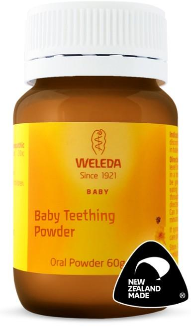 Weleda Baby Teething Powder Bath & Care Weleda