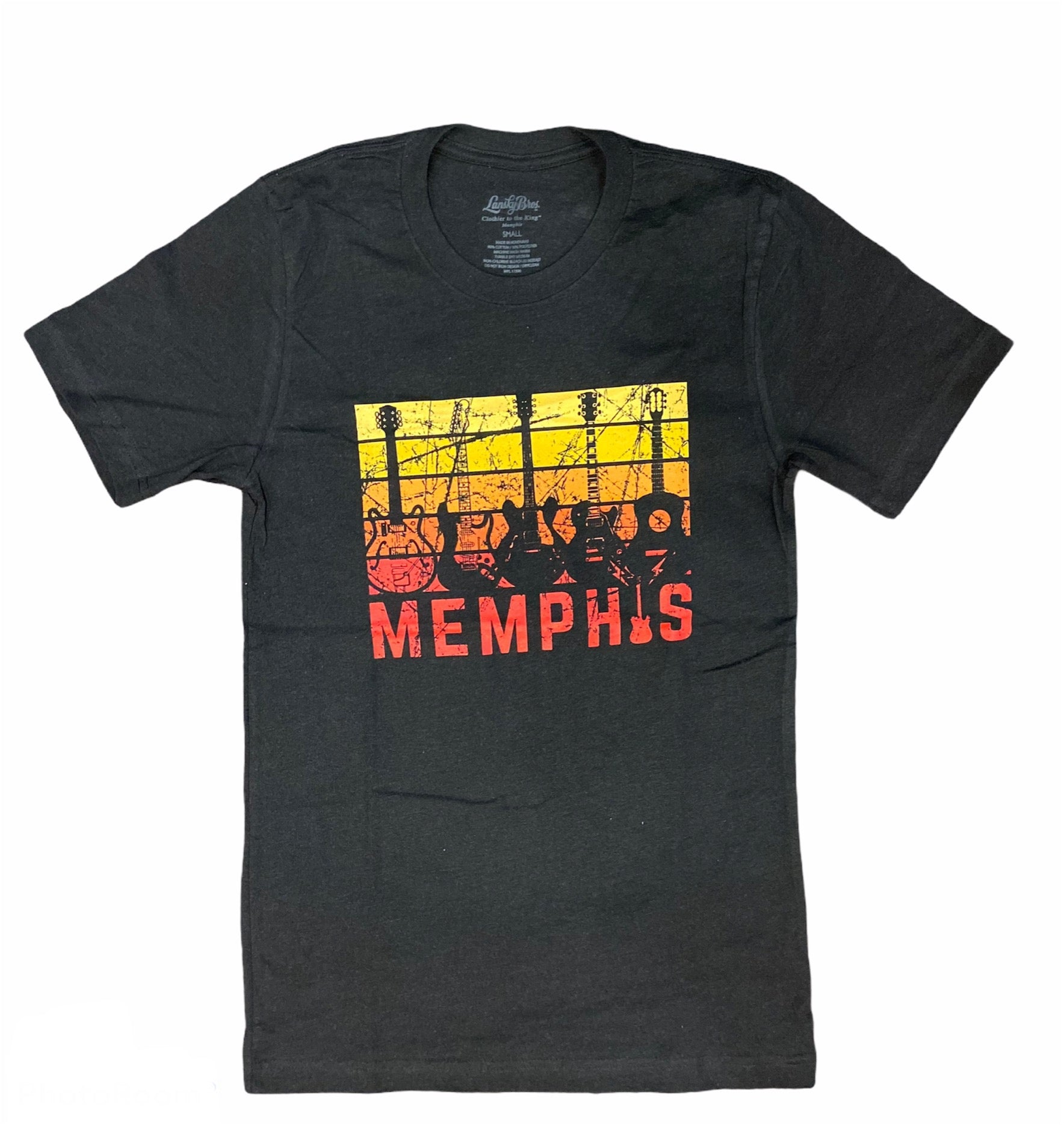 Memphis Guitar Sunset Tee