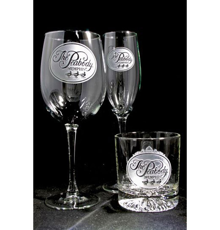 Peabody Etched Glassware