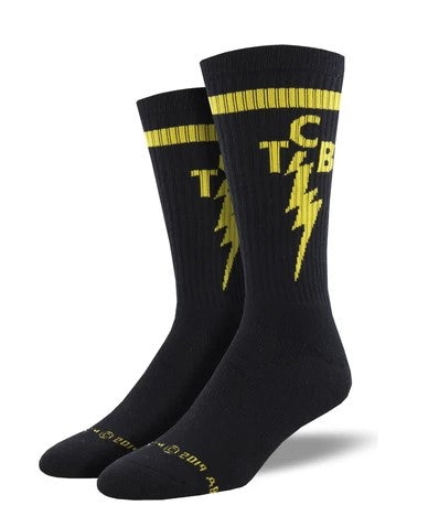 TCB Athletic Socks- Black