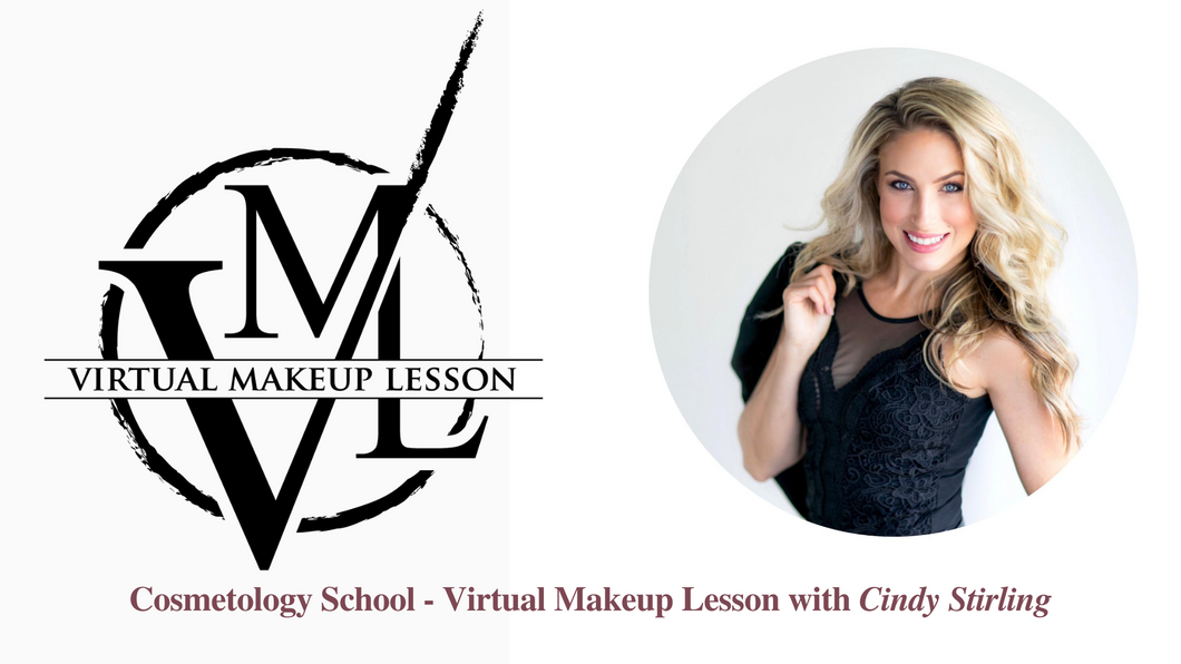 Cosmetology School - Virtual Makeup Lesson with Cindy Stirling