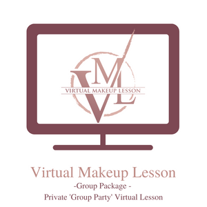 Virtual Makeup Lesson - Private Group Package