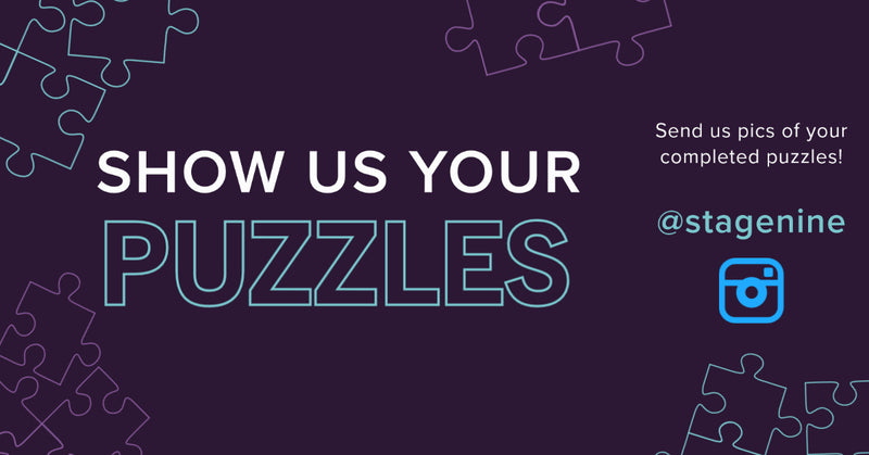 We Want To See Your Finished Puzzles!