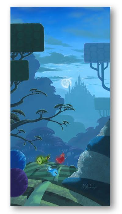 Night Flight - Disney Treasure On Canvas