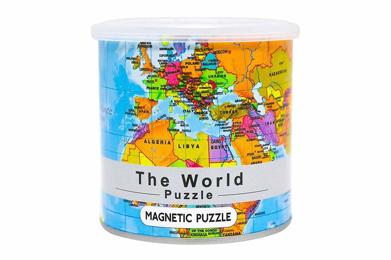 World Magnetic Puzzle