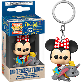 POP Keychain: Minnie at the Dumbo the Flying Elephant Attraction