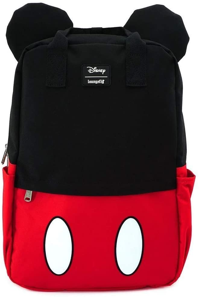 Loungefly Mickey Mouse Square Nylon Backpack