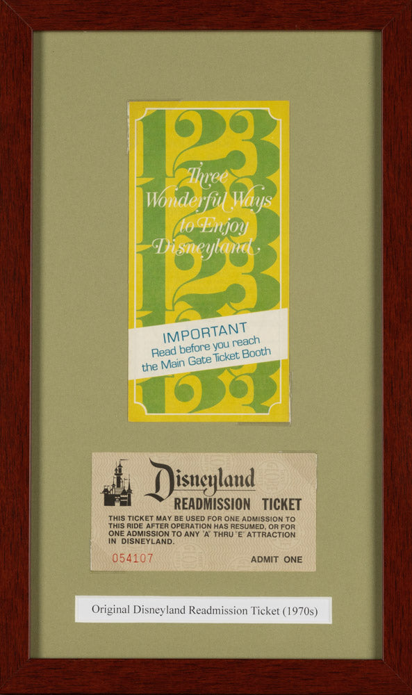 Disneyland Readmission Ticket