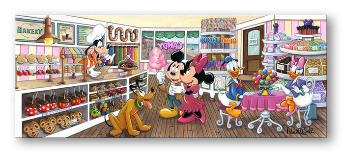 Trip To the Candy Store - Disney Treasure On Canvas
