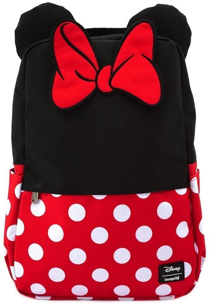 Loungefly Minnie Mouse Cosplay Nylon Backpack
