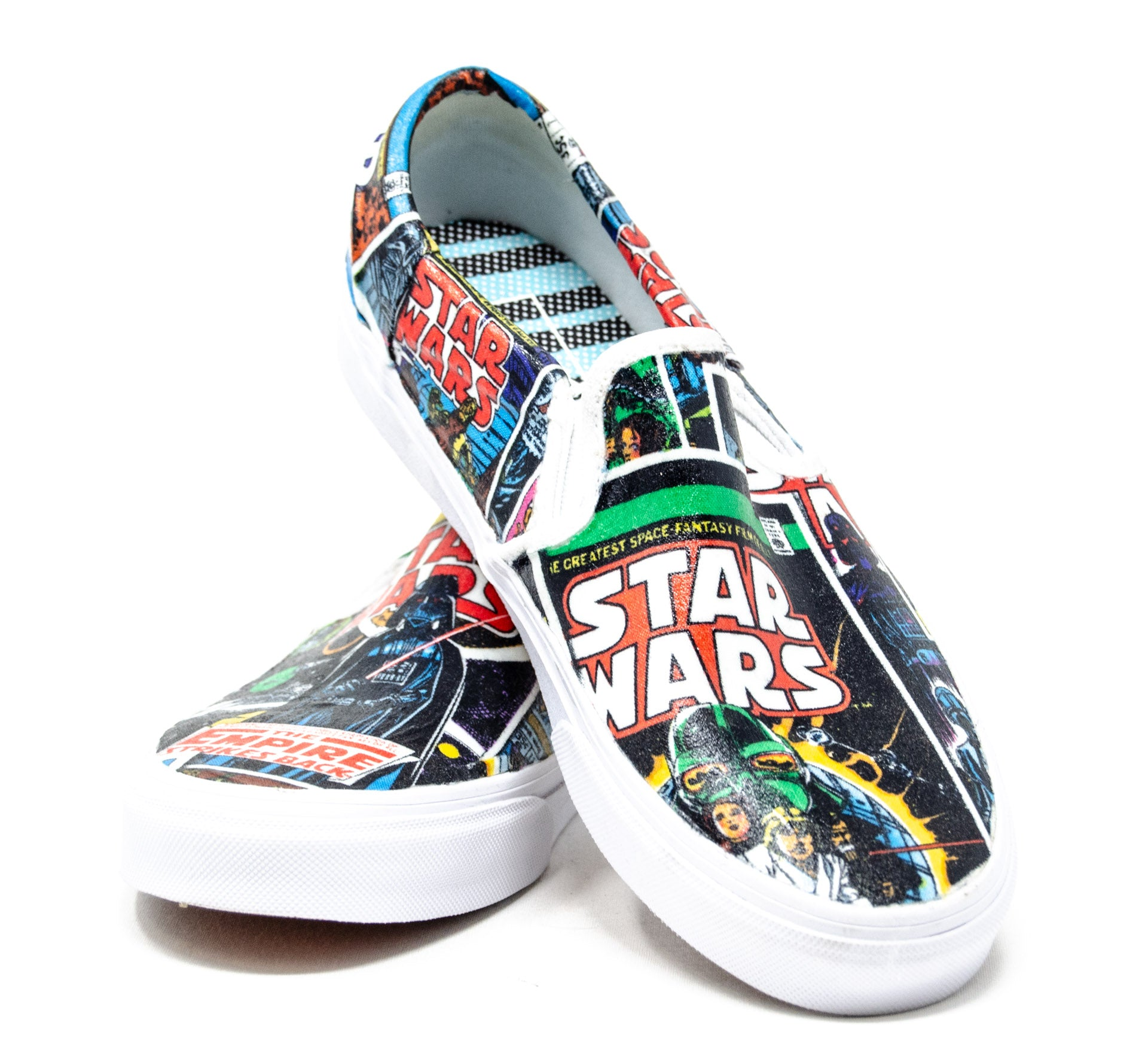 Hand Made Star Wars Vans Shoes – Stage Nine Entertainment Store