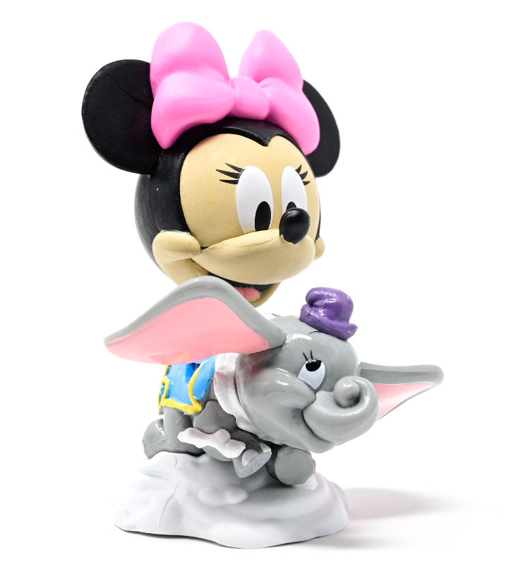 Minnie Mouse at Dumbo the Flying Elephant attraction