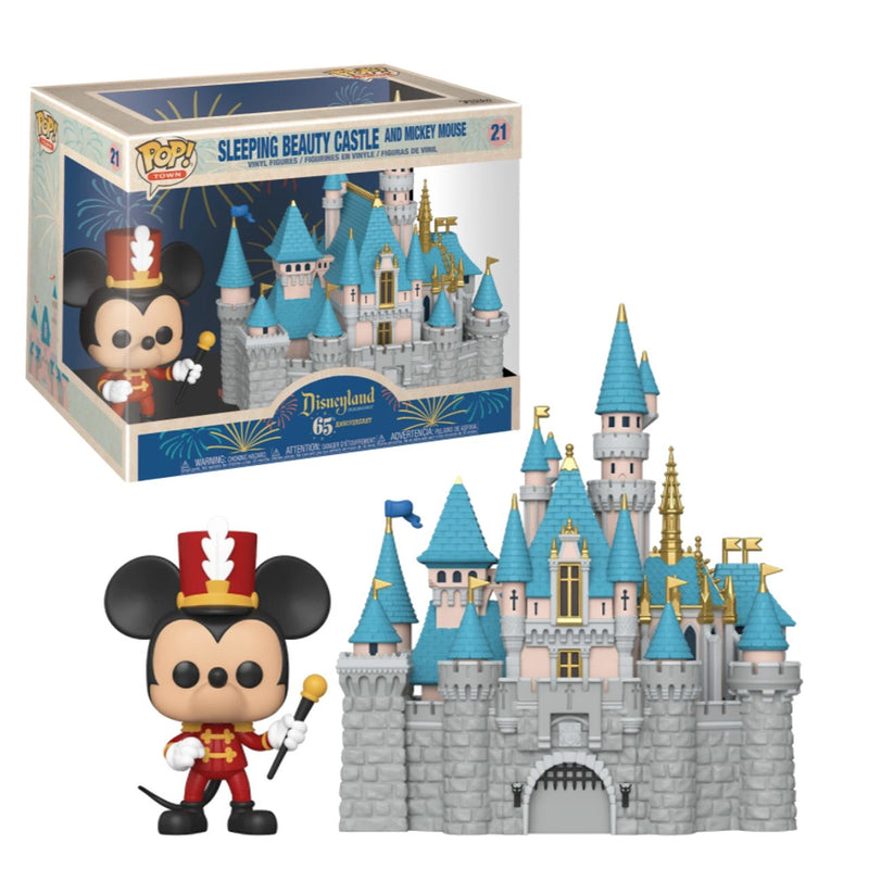 Disneyland 65th POP: Sleeping Beauty Castle w/ Mickey