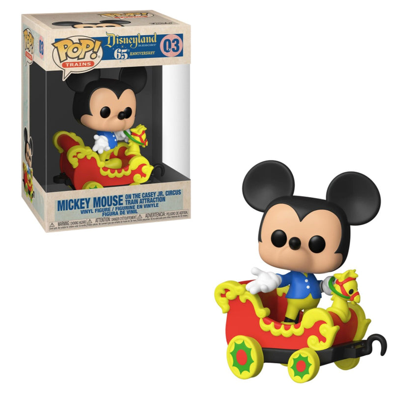 POP: 65th Anniversary - Mickey on the Casey jr. Circus Attraction
