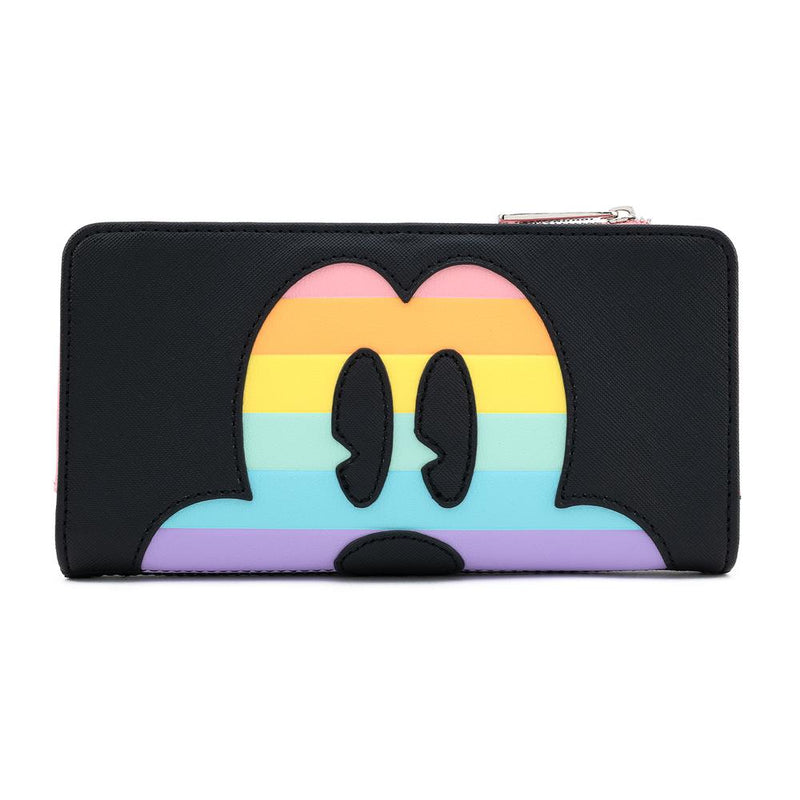 Loungefly Mickey Mouse Pastel Rainbow Wallet