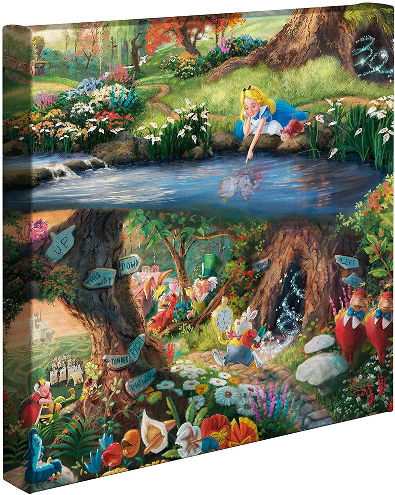 Alice in Wonderland Kinkade