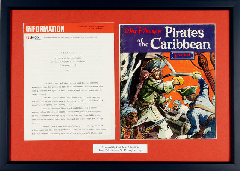 Pirates of the Caribbean Press Release