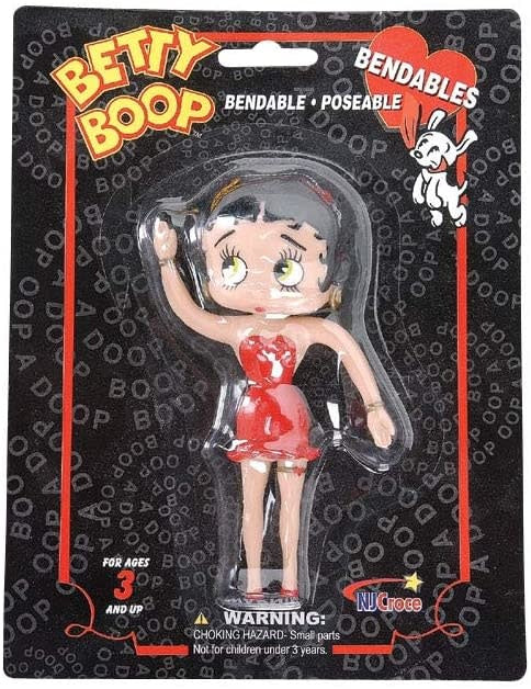 Betty Boop Bendable 5""