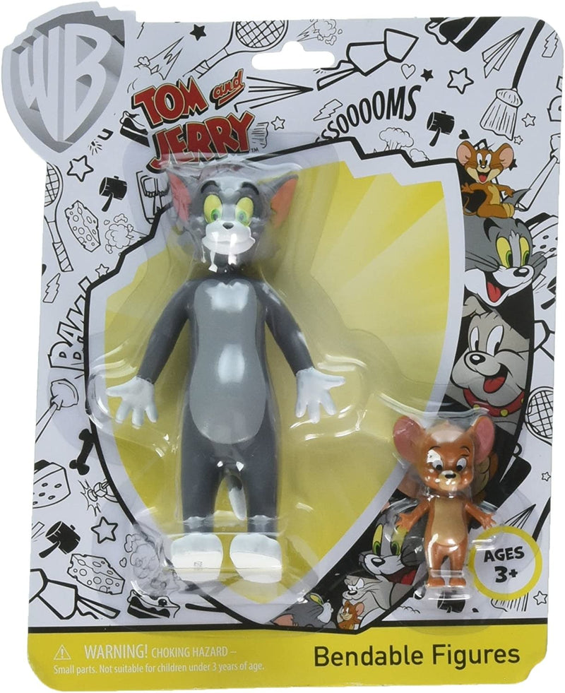 Tom & Jerry Bendable Figures 5""