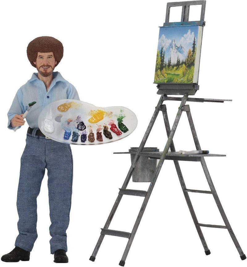 "Bob Ross 8"" Action Figure"
