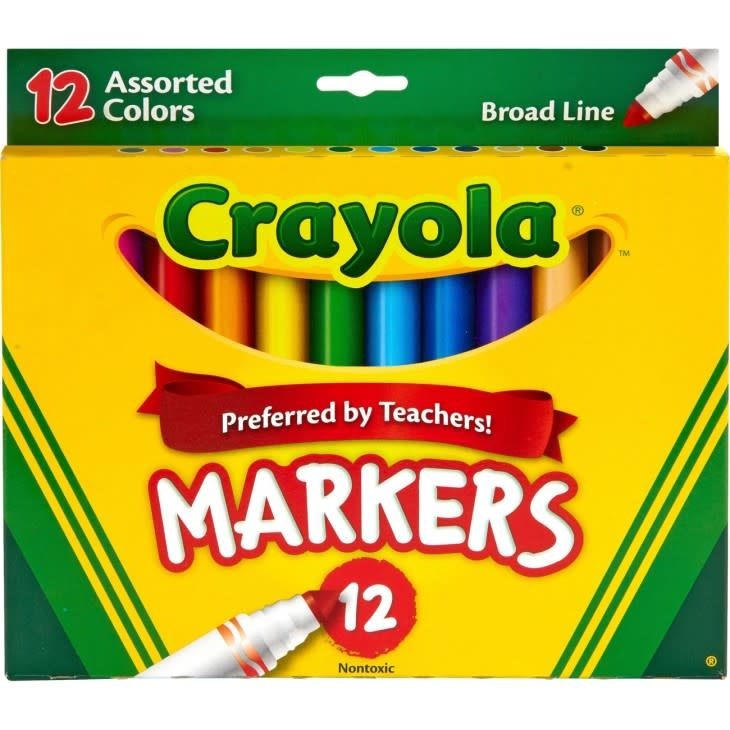 Crayola 12pk Assorted Markers