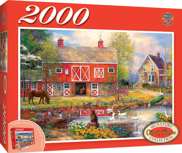 Reflections On Country Living Puzzle 2000 Pc
