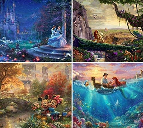 4 in 1 Disney Puzzle 500 pc.